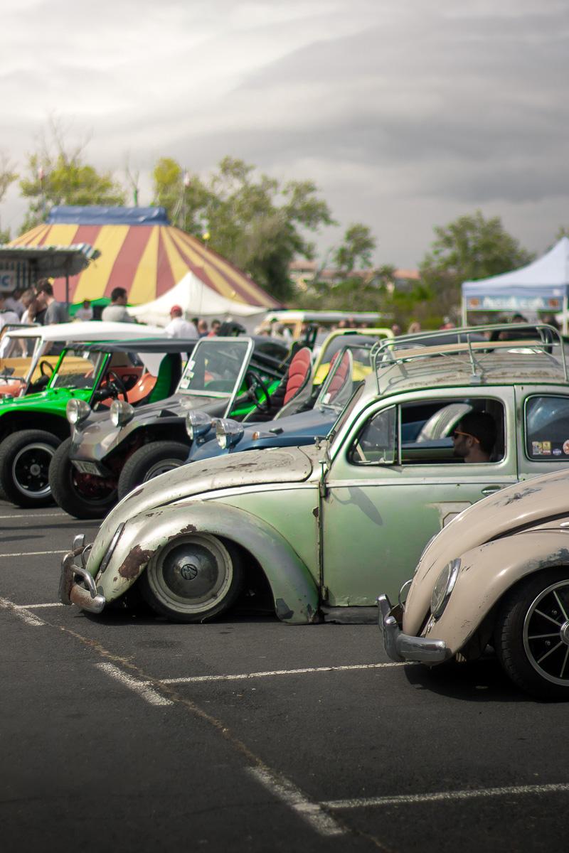 2018_09_09 Cap D'agde Slammed VW Beetle