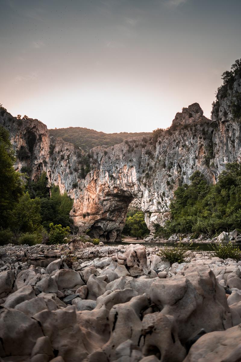 France, Vallon Pont d'Arc