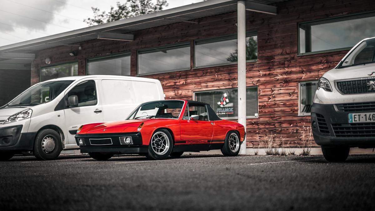 Pôle mécanique Porsche 914