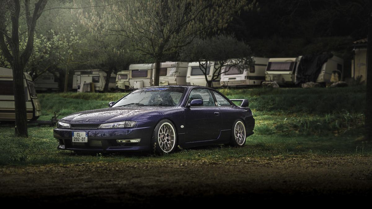 Spring Event Slammed Nissan S14 Silvia